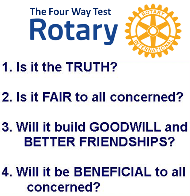 4 way test Rotary 4-way test essay contest  the district 5580 4-way essay contest materials are now available and ready for you to download and print the essay contest is open to students in their final 2 years of high school, and the district winner will receive a $1,250 cash award (includes regional award of $150.